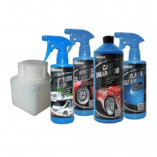 Hand wash kit with tar remover