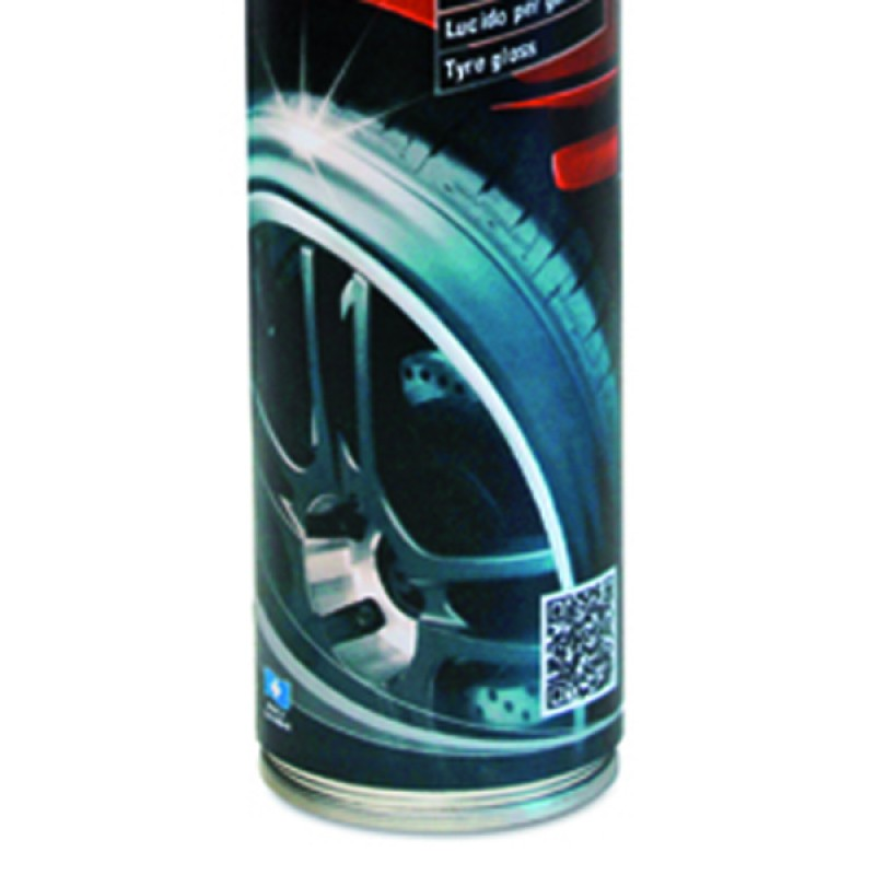 Car tyre gloss