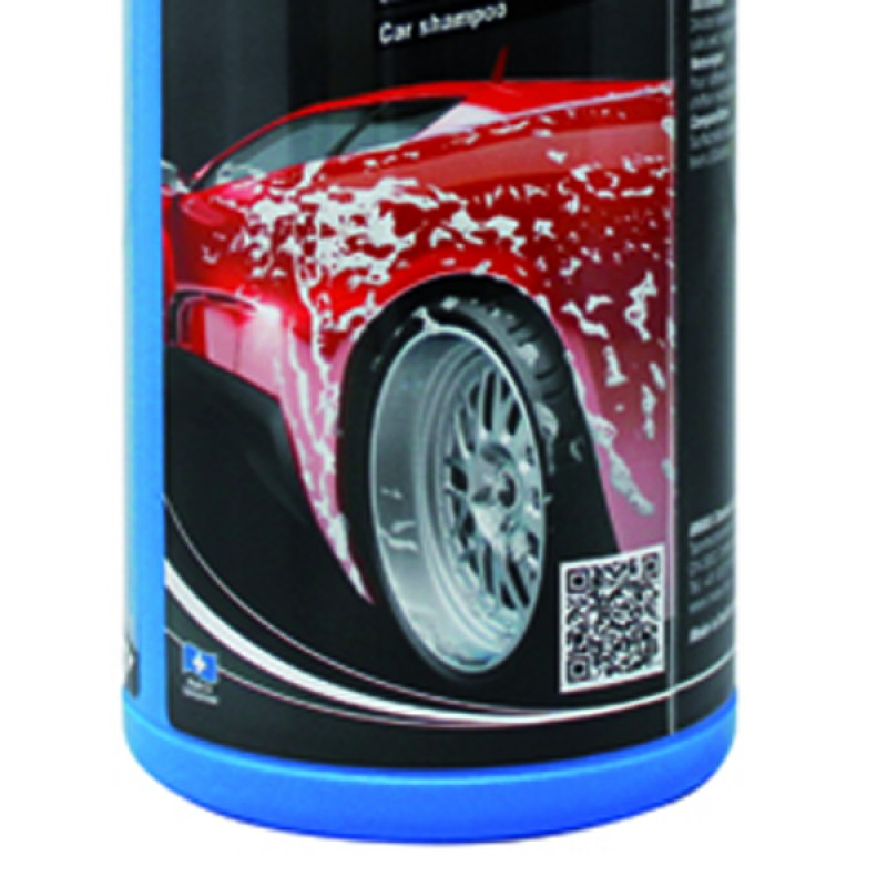 Manual car wash shampoo