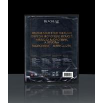 Riwax® Mikrošķiedras Dvielis, Melns, Neatstāj Nospiedumus, 40x40CM, 03475