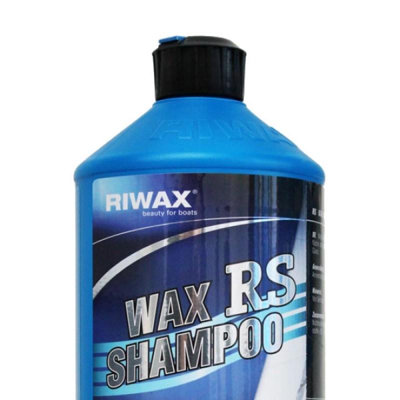 Boat wax shampoo with shine effect