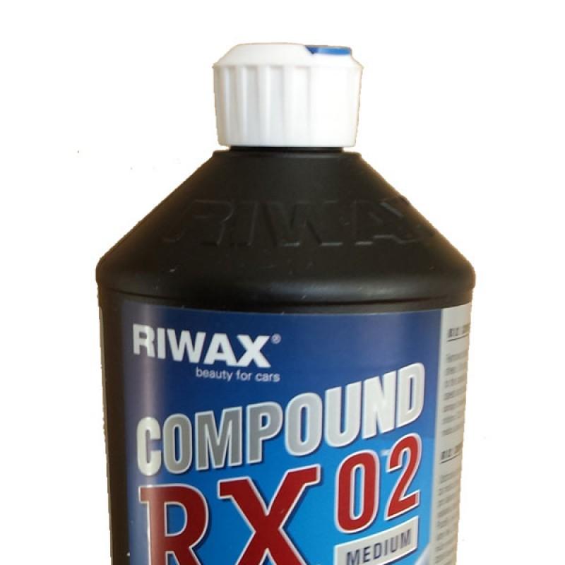 Medium coarse polishing compound