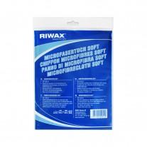 Микрофибровая салфетка мягкая Riwax® 40x40 см