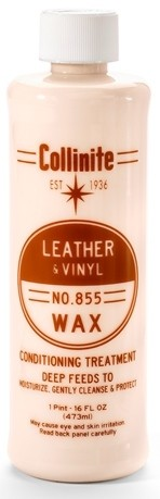 leather & vinyl wax