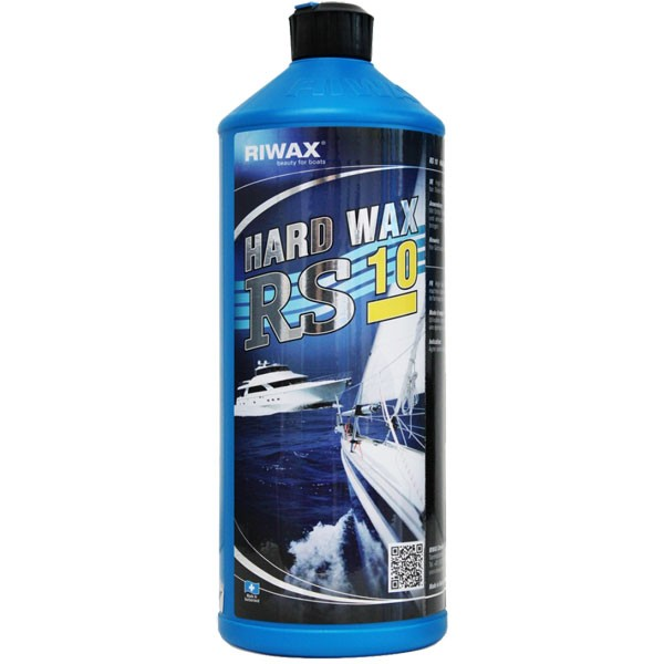 Riwax® RS10 Hard Wax, Boat Wax, Gelcoat Protector, 1L, 11005-1